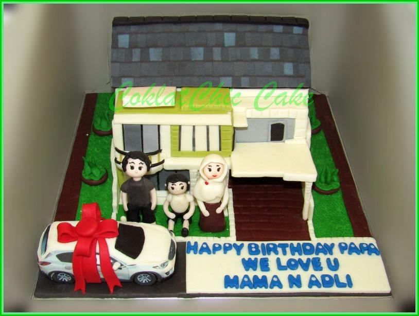 Cake Family Home & mobil Mazda CX 5 PAPA 15 cm