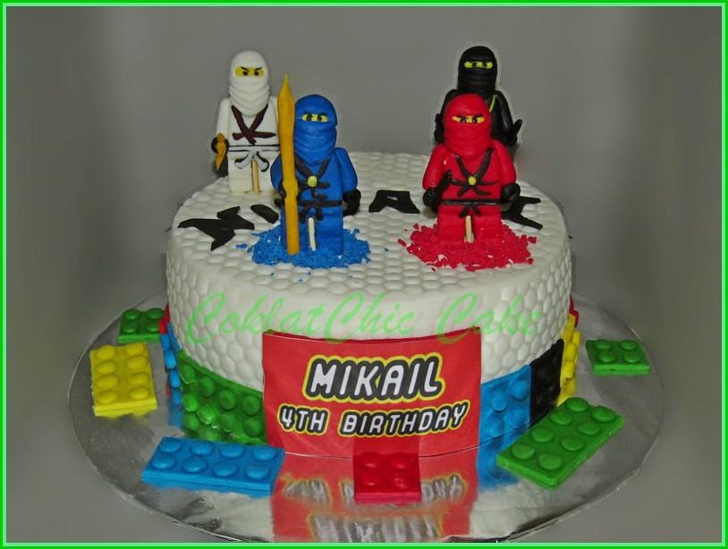 Cake Ninjago MIKAIL 15 cm