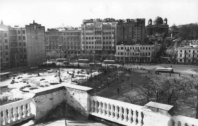 Панорама площади Сталина (Европейская площадь)