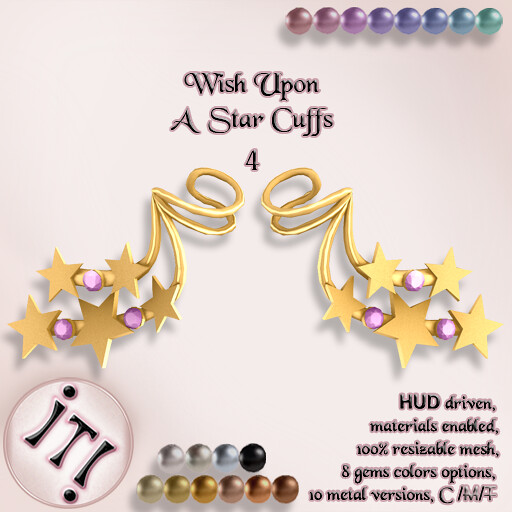 !IT! – Wish Upon A Star Cuffs 4 Image