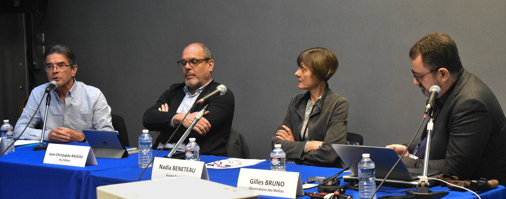 Trois acteurs de la presse professionnelle livrent leur vision du métier et son avenir. Photo : Malvina Raud
