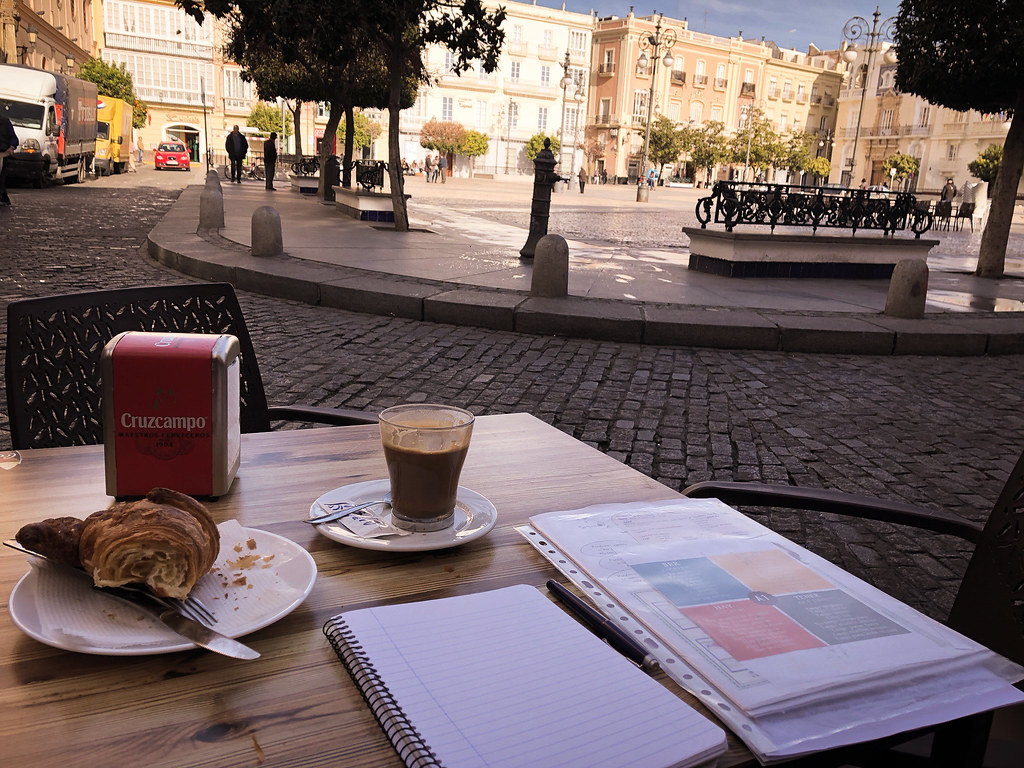 The coffee is always pretty bad in Spain, but at least it was a great place to study