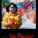 Carnaval Girl SFPostcard