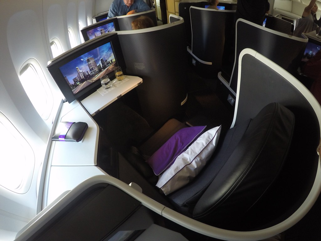 Virgin Australia business class 14