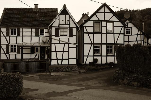 Fachwerkhäuser in Solingen, Sony ILCE-6000, Sigma 30mm F2.8 [EX] DN
