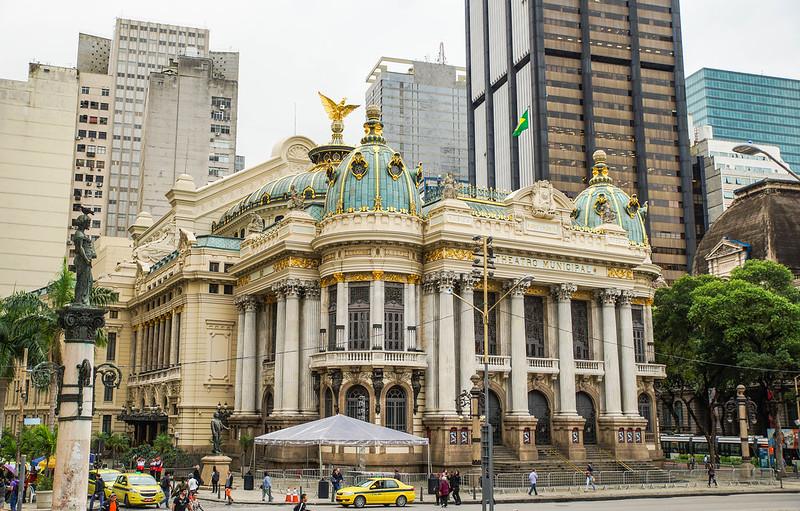 Theatro Municipal brazil brasilia rio de janeiro teatteri theater