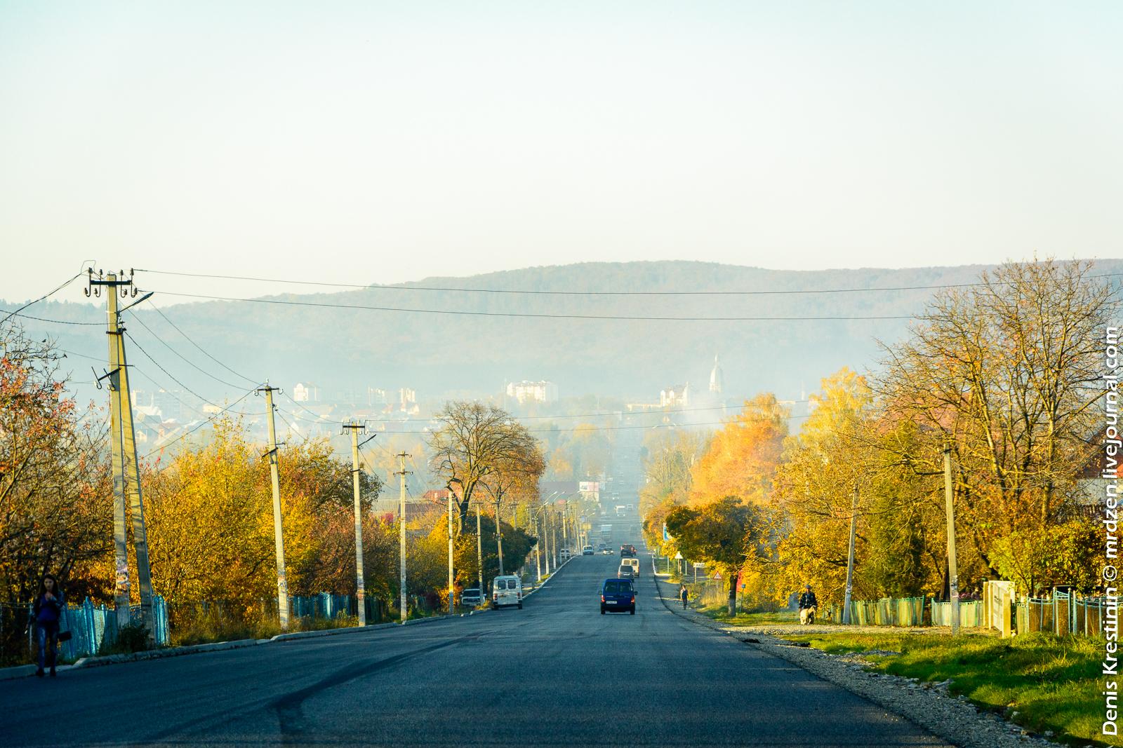 Україна.  По дорозі з Буковеля.
