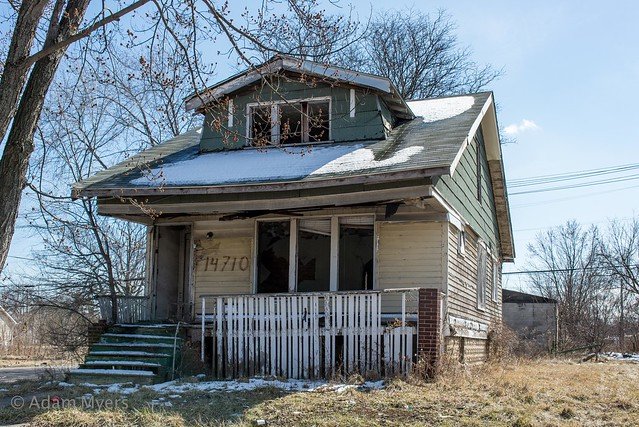Abandoned Housing, Detroit, Michigan, Nikon D600, AF Zoom-Nikkor 28-200mm f/3.5-5.6G IF-ED