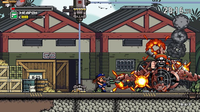 Mercenary Kings - Boss bitva