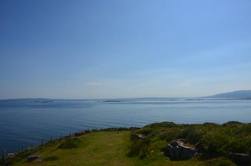 Blick auf die Spratley Inseln