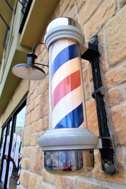 Barbershop in Denton, Texas
