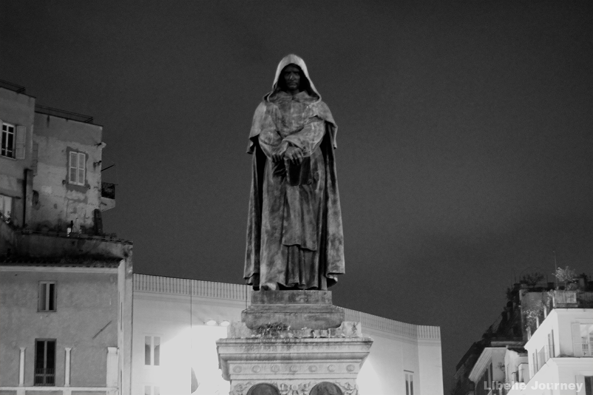 The Statue of Giordano Bruno