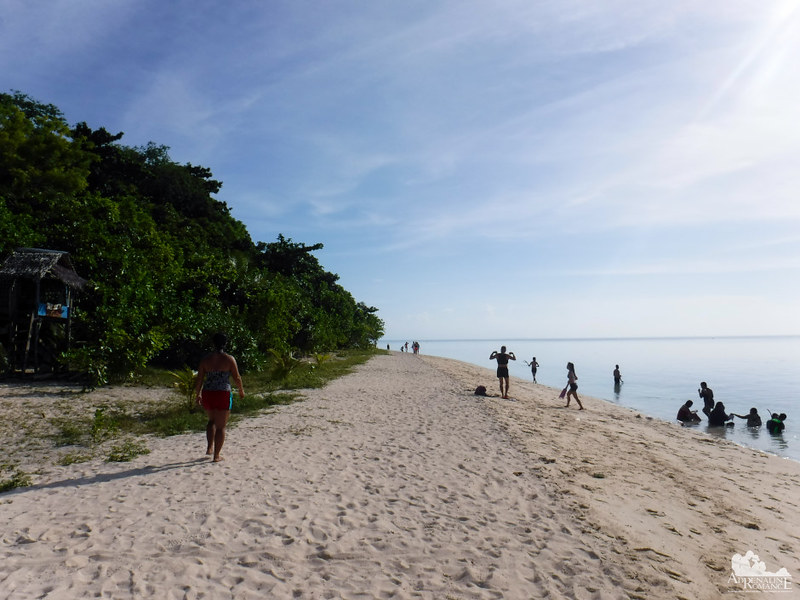Beach in Canigao Island