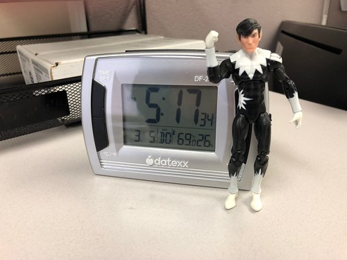 Take your action figure to work day