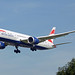British Airways Boeing 787-9 Dreamliner G-ZBKM