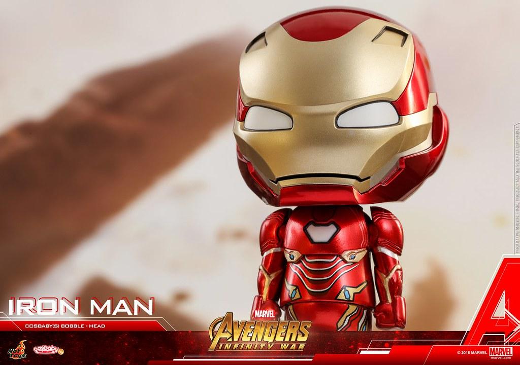 爆氣的索爾看起來真的超強!! Hot Toys - COSB430-460《復仇者聯盟3:無限之戰》Avengers: Infinity War Cosbaby (S) Bobble-Head Series