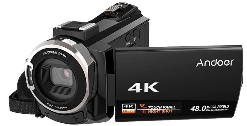 Andoer 4K ビデオカメラ (4)