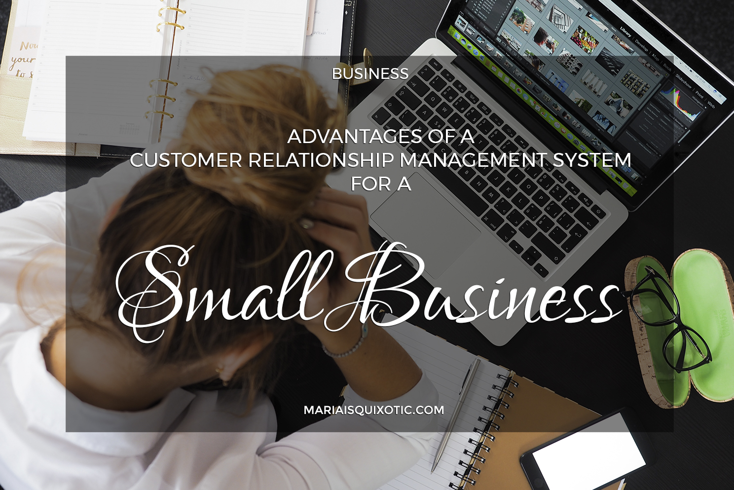 Advantages of a Customer Relationship Management System for a Small Business