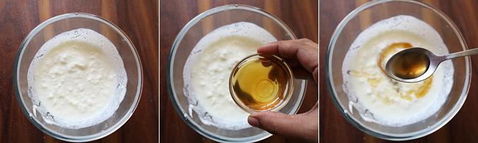 How to make honey yogurt popsicles recipe - Step1