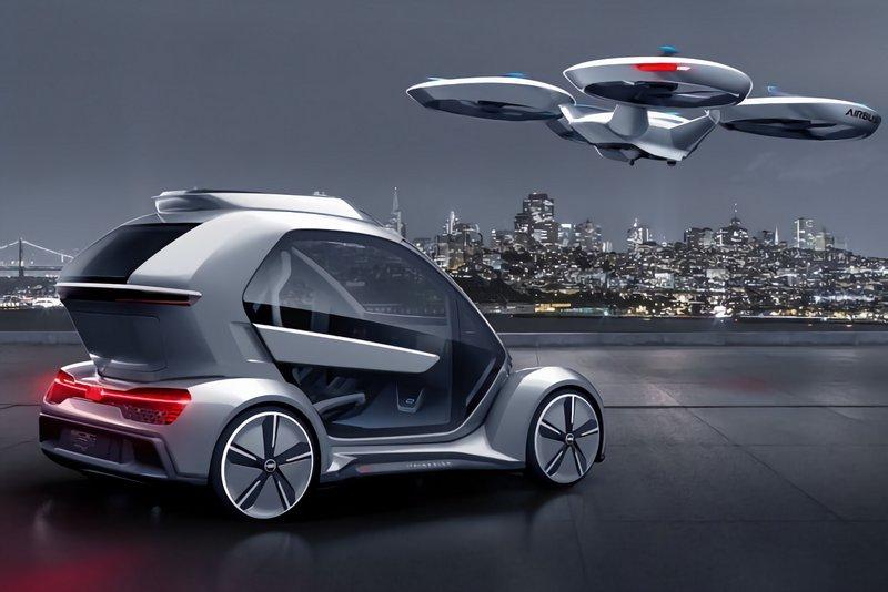 Audi et Airbus se sont associés pour redéfinir l'avenir du transport de masse