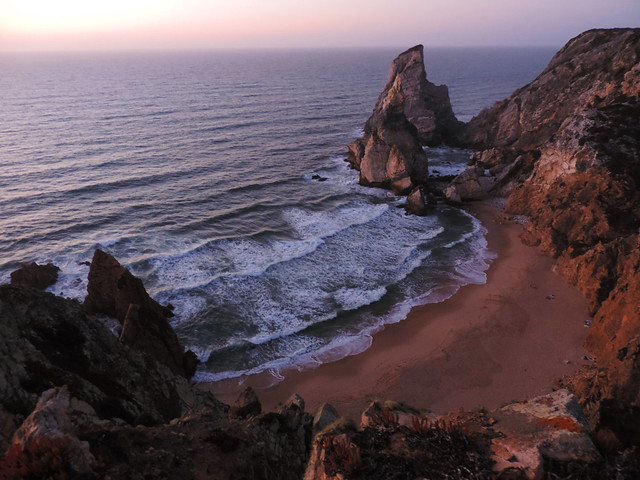 Portuguese sunsets: Praia da Ursa