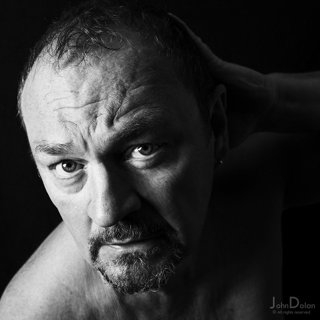 the darkness | self portrait | series six