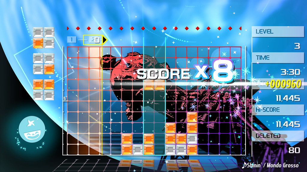 Lumines Remastered on PS4