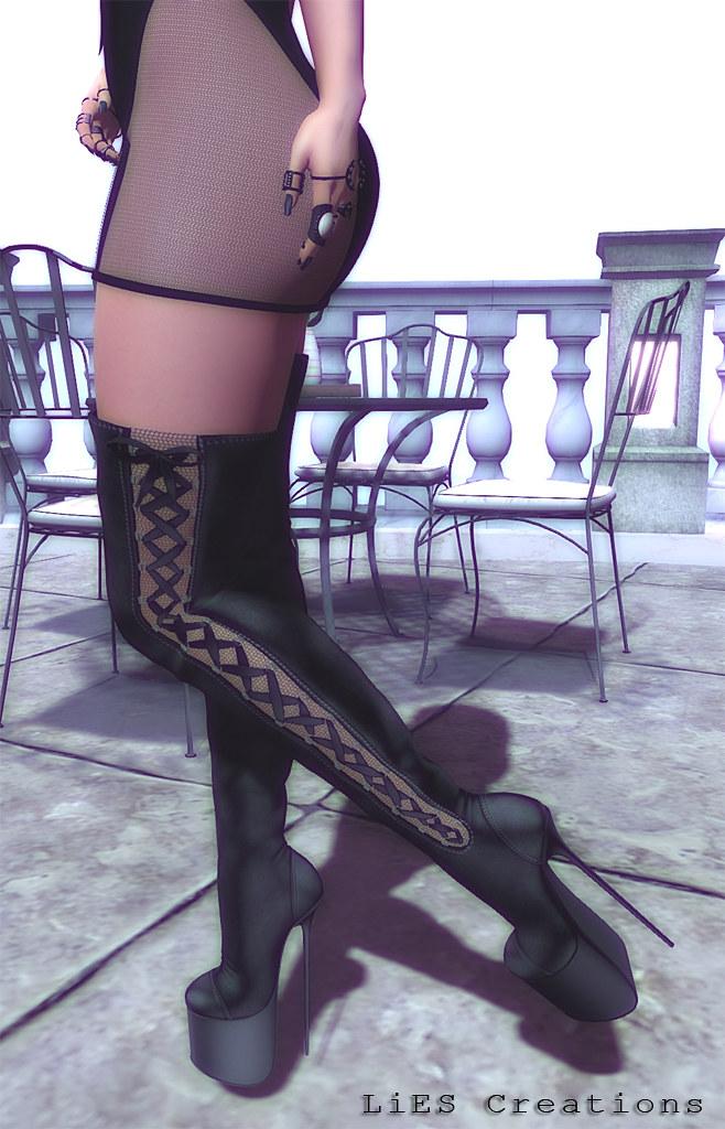 Vanity High Heels Boots - TeleportHub.com Live!