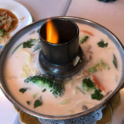 Flaming Tom Kha