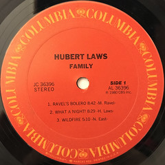 HUBERT LAWS:FAMILY(LABEL SIDE-A)