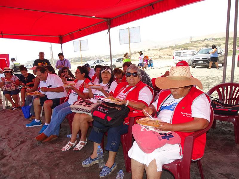 Mujeres de Camaná e Islay se reunieron en Mejía 2018