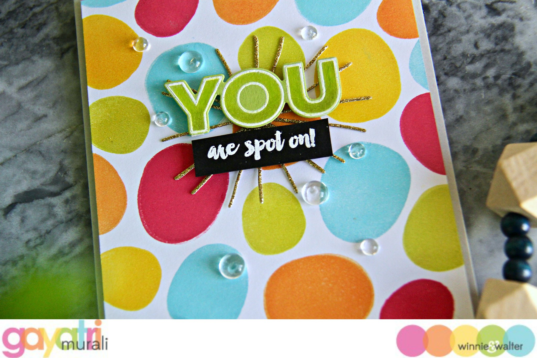 gayatri_You are spot on card closeup1