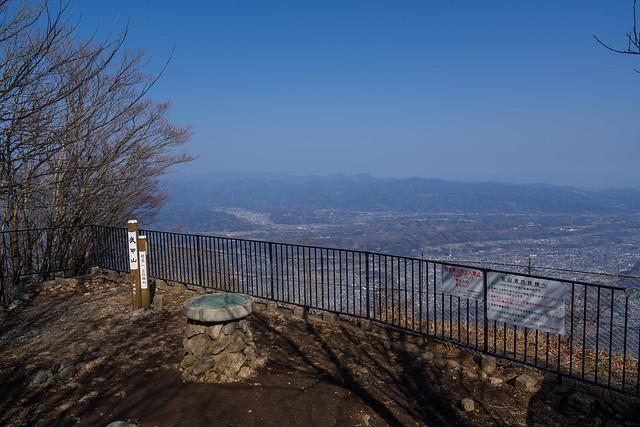 武甲山山頂展望台