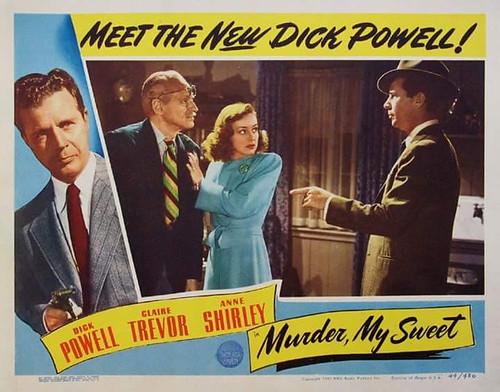 Murder, My Sweet - lobbycard 3