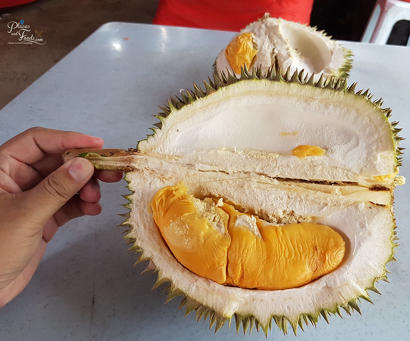 durian stall taman segar red prawn
