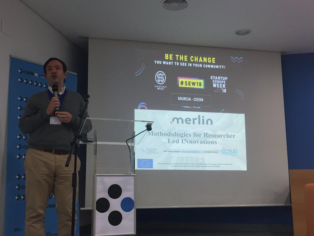 Merlin ICT | European Project H2020 Entrepreneurship Researchers