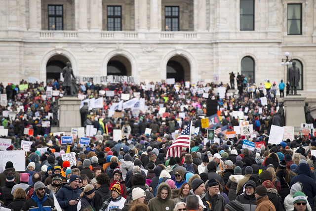 Minnesota March for Our Lives at the capitol