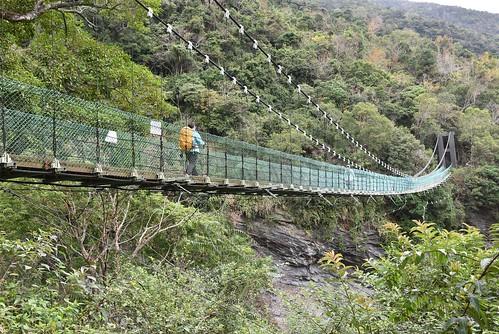 瓦拉米步道-山風一號吊橋