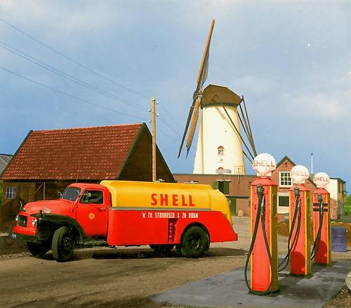 1956 Bedford TA, Shell Strijbosch Didam