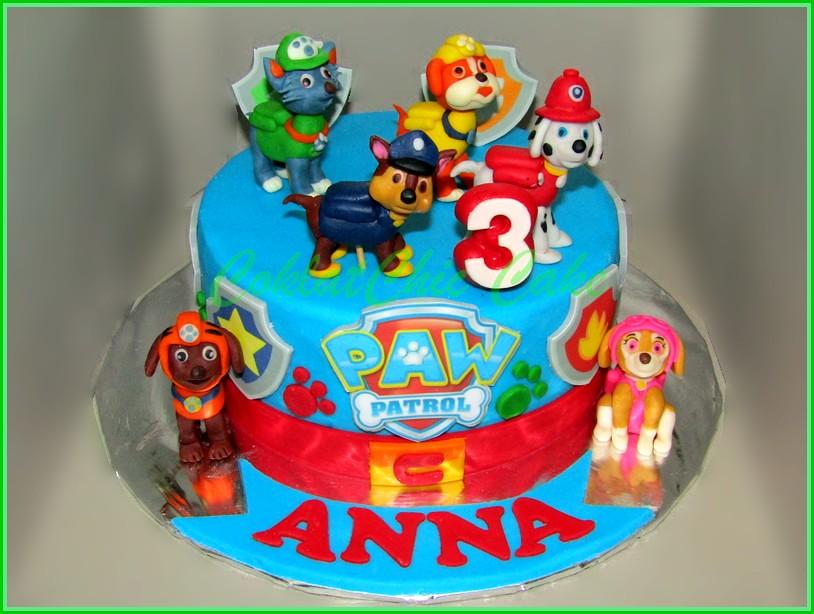 Cake paw Patrol ANNA 15cm