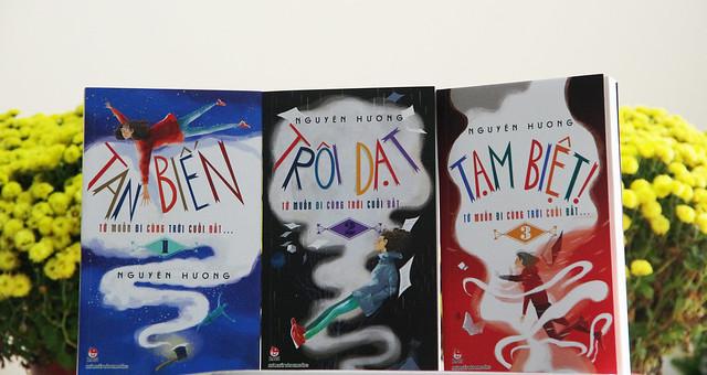 Bộ 3 cuốn của NV Nguyên Hương