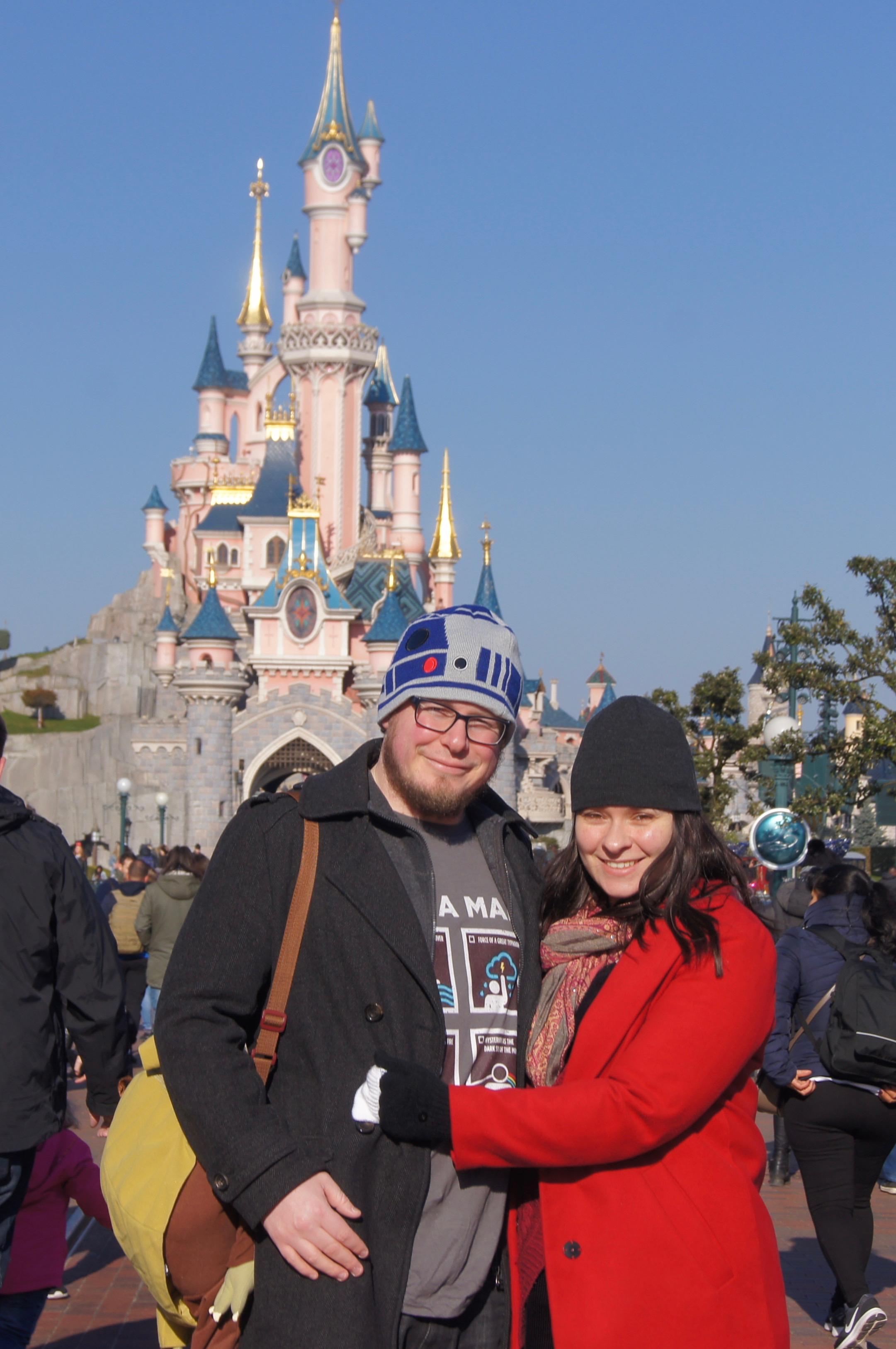Disneyland Paris Trip - topher and diane