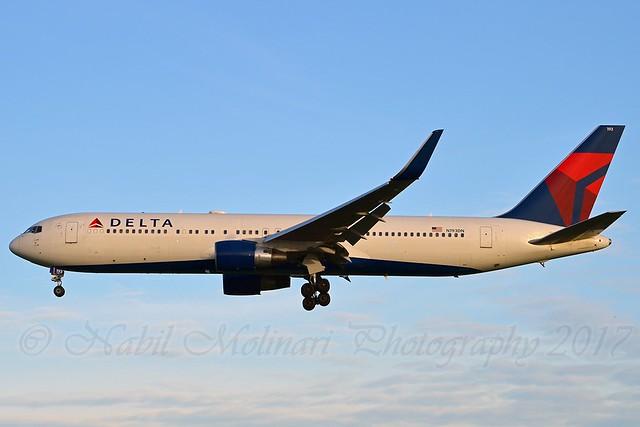 Delta Air Lines N193DN Boeing 767-332ER Winglets cn/28450-671