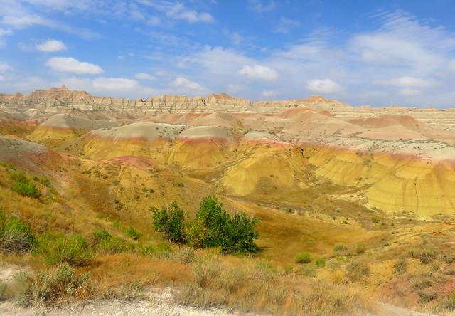 South Dakota Colorful Hills