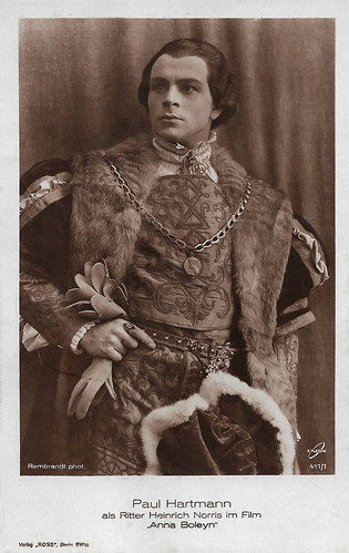 Paul Hartmann in Anna Boleyn (1920)