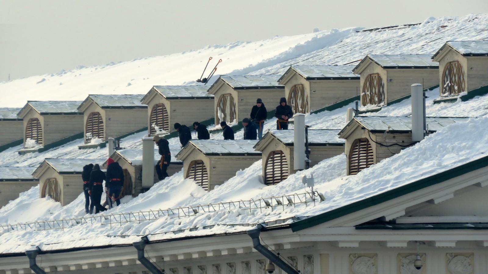 Раб крыши Уходят