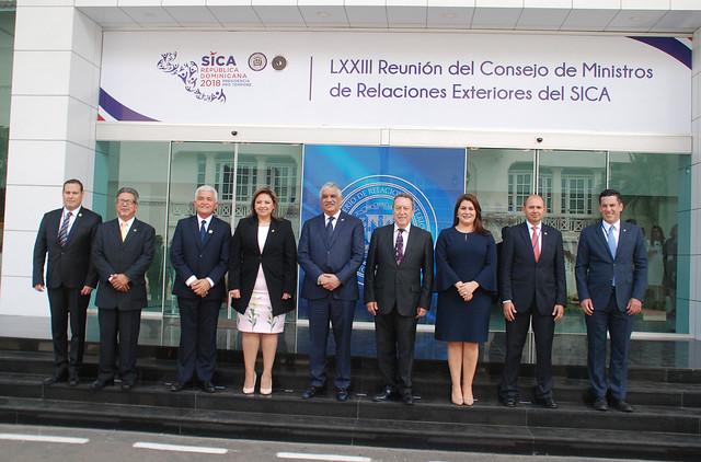 Reunión de Cancilleres del SICA