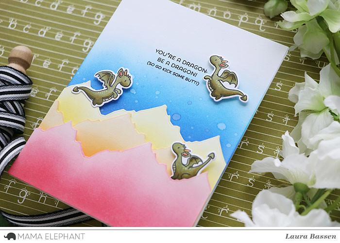 Mama Elephant-Dragon Wishes