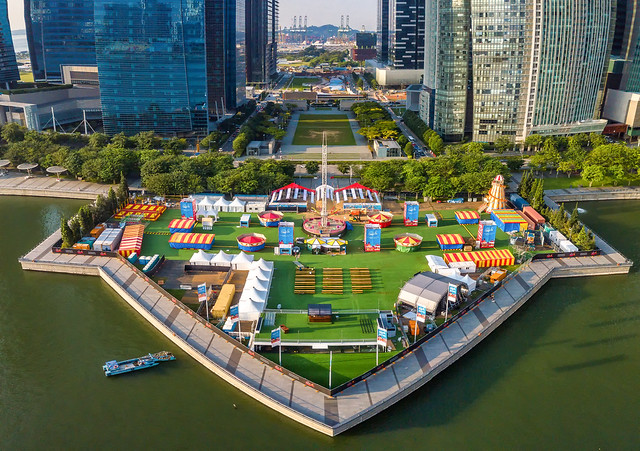 Singapore Prudential Marina Bay Carnival 2018