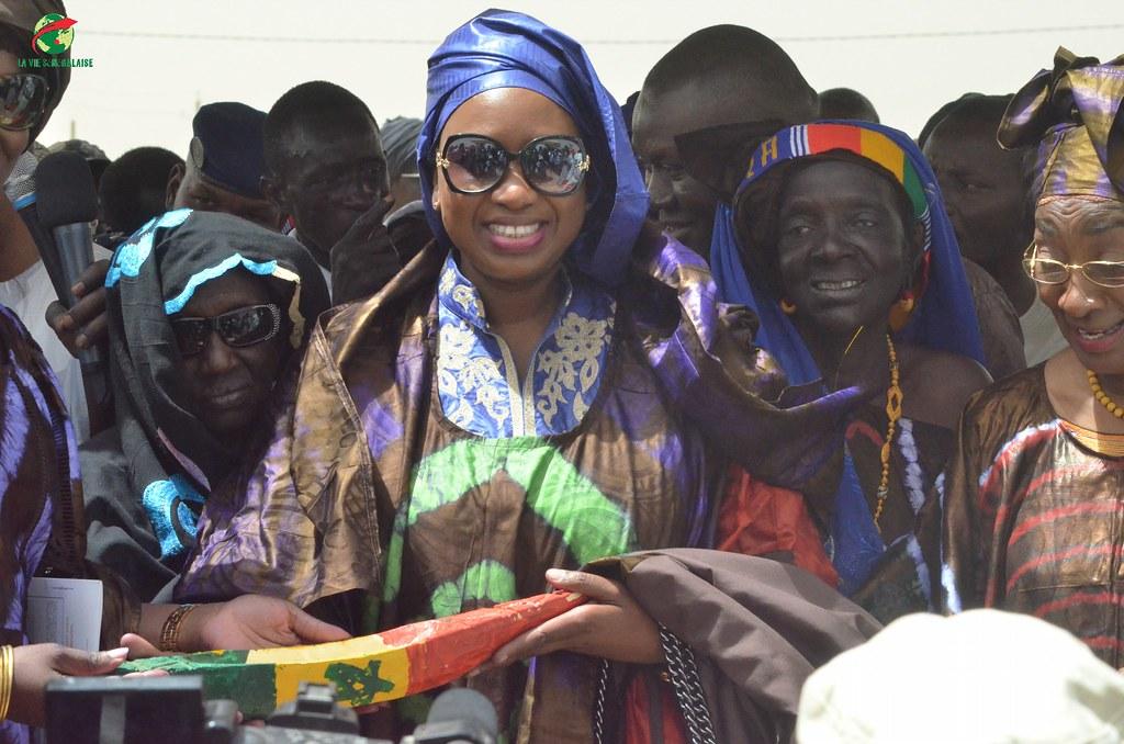Inauguration d'infrastructures  de base à Mbakhna Par la Fondation SONATEL (100)